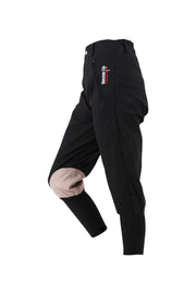 Exercise Breeches - unisex (black/beige-patches)