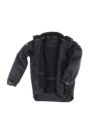 Waterproof winter riding jacket - unisex (black)