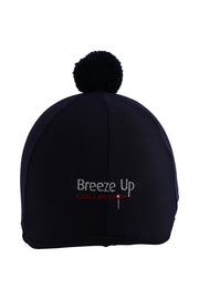 Helmet cover with Breeze Up logo (black)