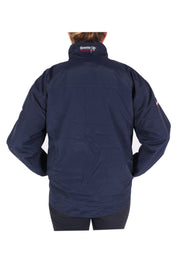 Waterproof winter riding jacket - unisex (navy)