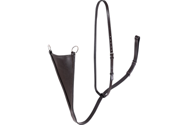 Martingale: bib - premium leather