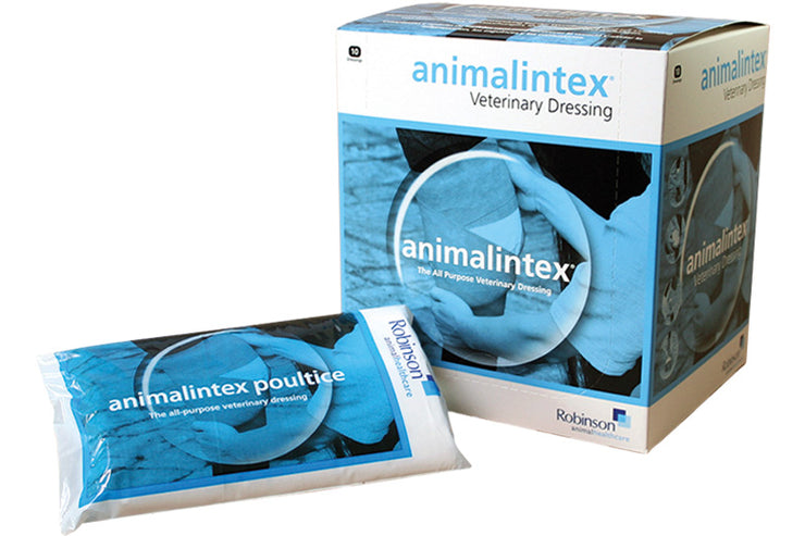 Poultice: Robinson's Animalintex Animal Dressing (box of 10)