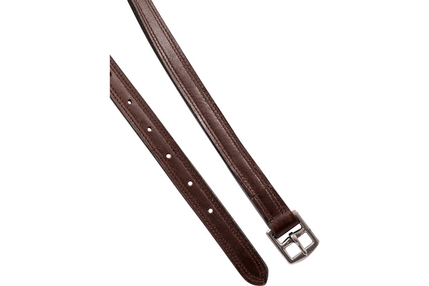 Stirrup leathers: dual layer
