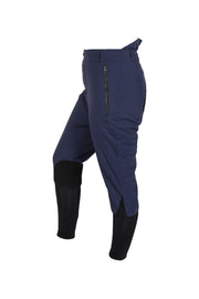 Waterproof breeches - unisex (navy/black-patches)