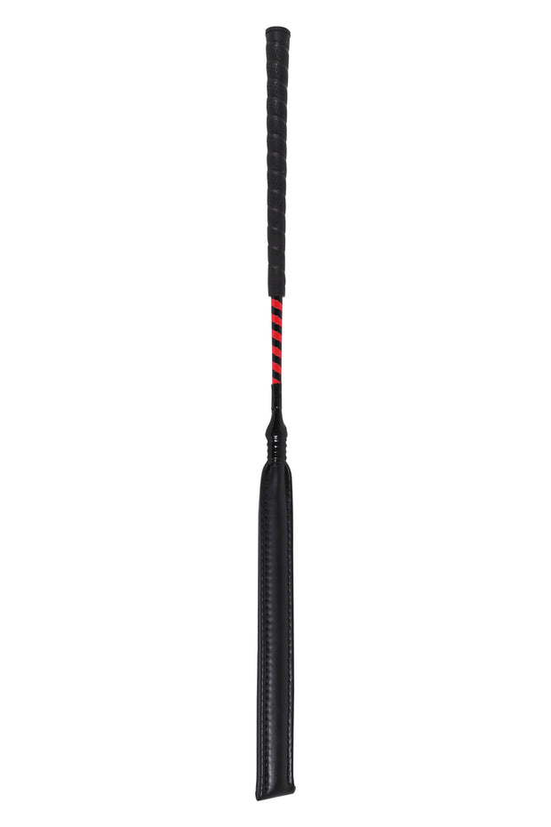 Jockey exercise whip (red/black)