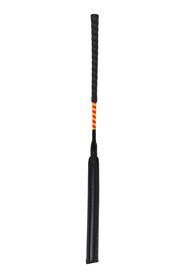 Jockey exercise whip (red/yellow)