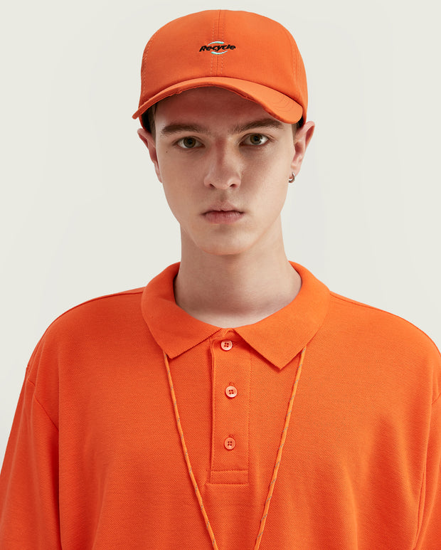 polo orange homme