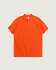 Polo à coupe oversize - Orange