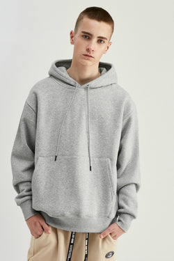 Sweat à capuche - Gris - Boutique Streetwear