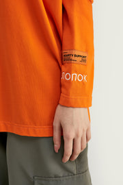 T-shirt orange fluo - Orange - Boutique Streetwear