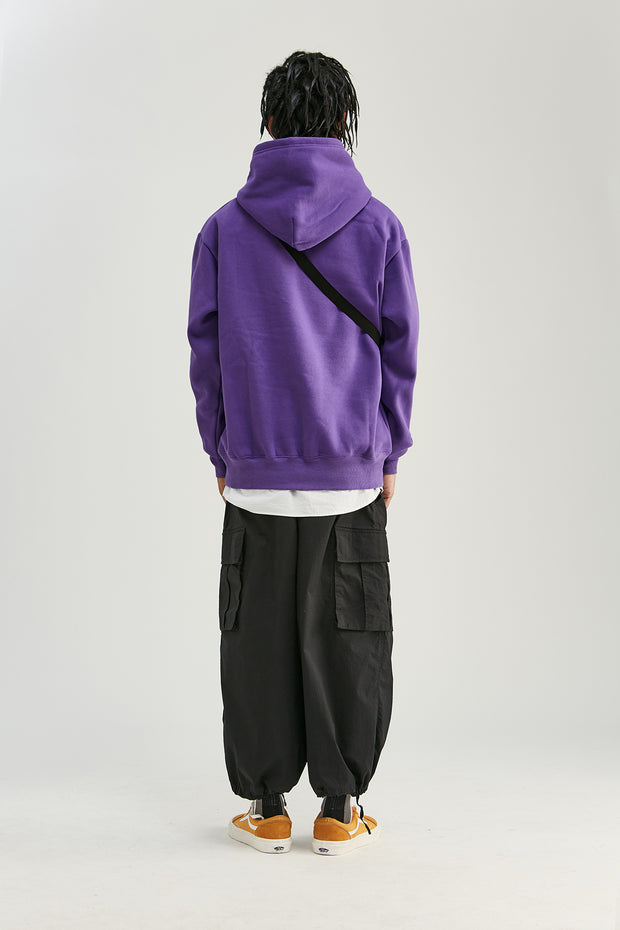 Sweat à capuche - Violet - Boutique Streetwear