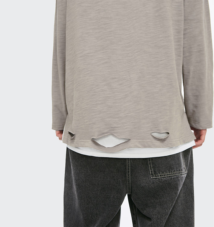 pull oversize homme