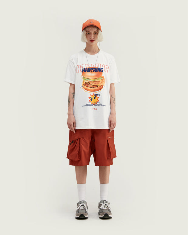 t-shirt hamburger frite