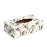 Birdsong Rectangular Tissue Box Cover - Handmade