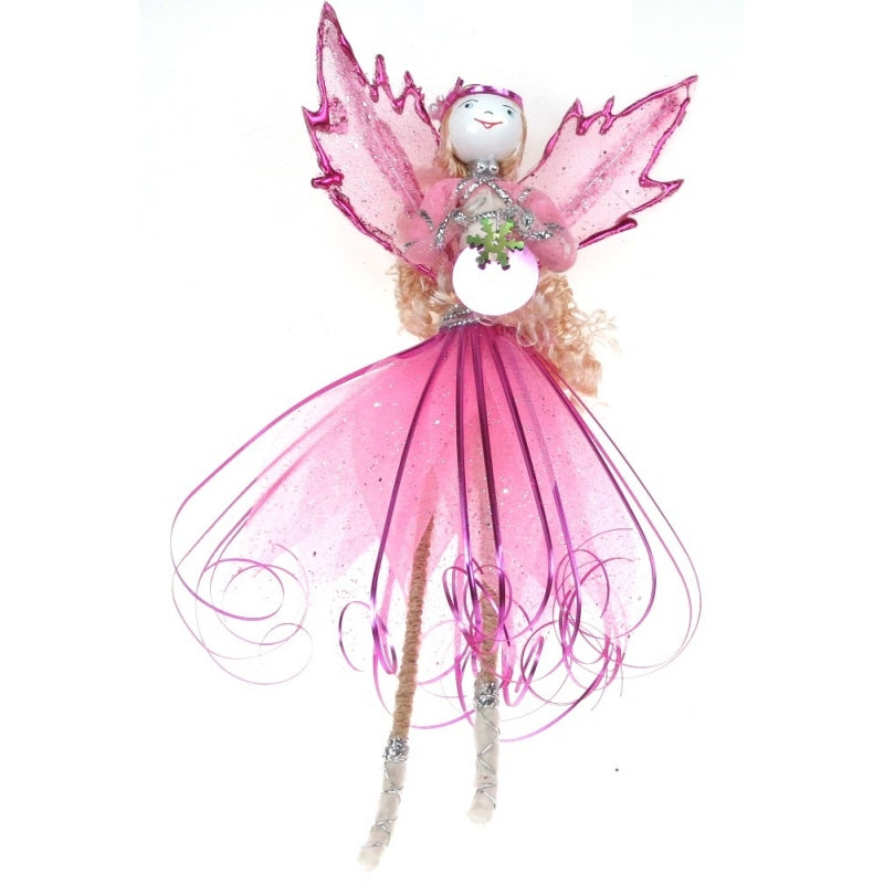 Pink Tinsel Fairy / Angel