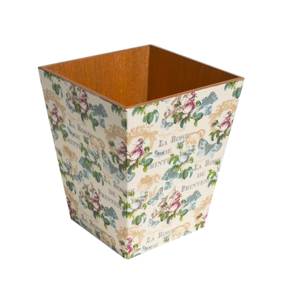 Botanical Tissue Box Cover - Handmade