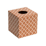 Moroccan Copper Tissue box cover - Handmade