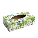 Potted Plants Rectangular Tissue Box Cover
