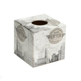 New York Tissue Box Cover - Handmade