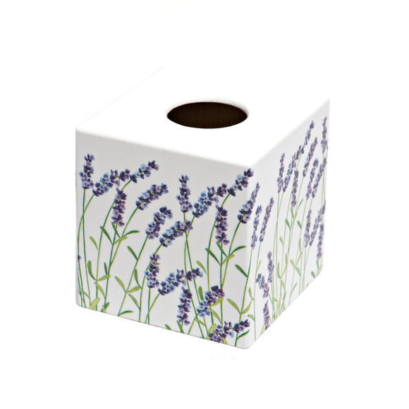 Lavender Tissue Box Cover - Handmade
