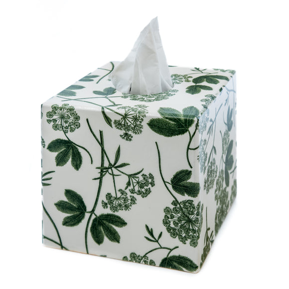 Green Parsley Tissue Box cover