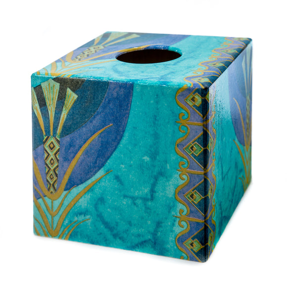 Turquoise Opulence Tissue box cover
