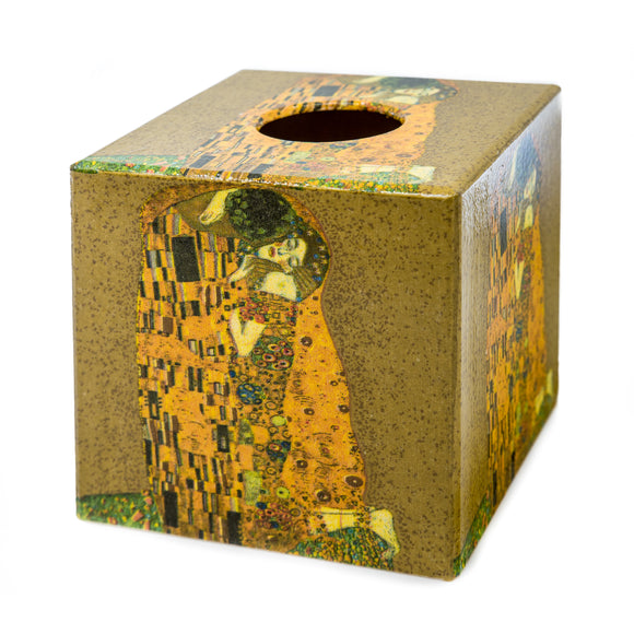 Gustav Klimpt The kiss Tissue box cover