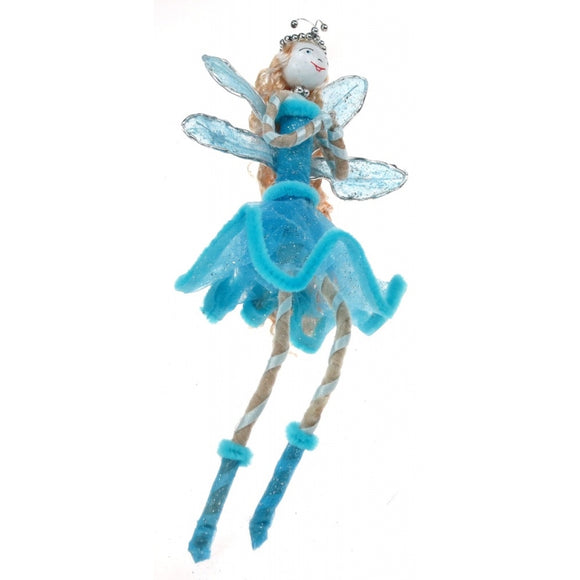 Blue Can Can Fairy