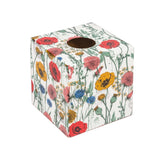 Colourful Poppies Tissue Box Cover - Handmade | Crackpots