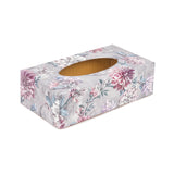 Dahlia Rectangle Tissue Box Cover - Handmade | Crackpots