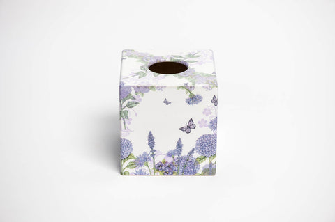 Lavender Tissue Box Cover | Crackpots