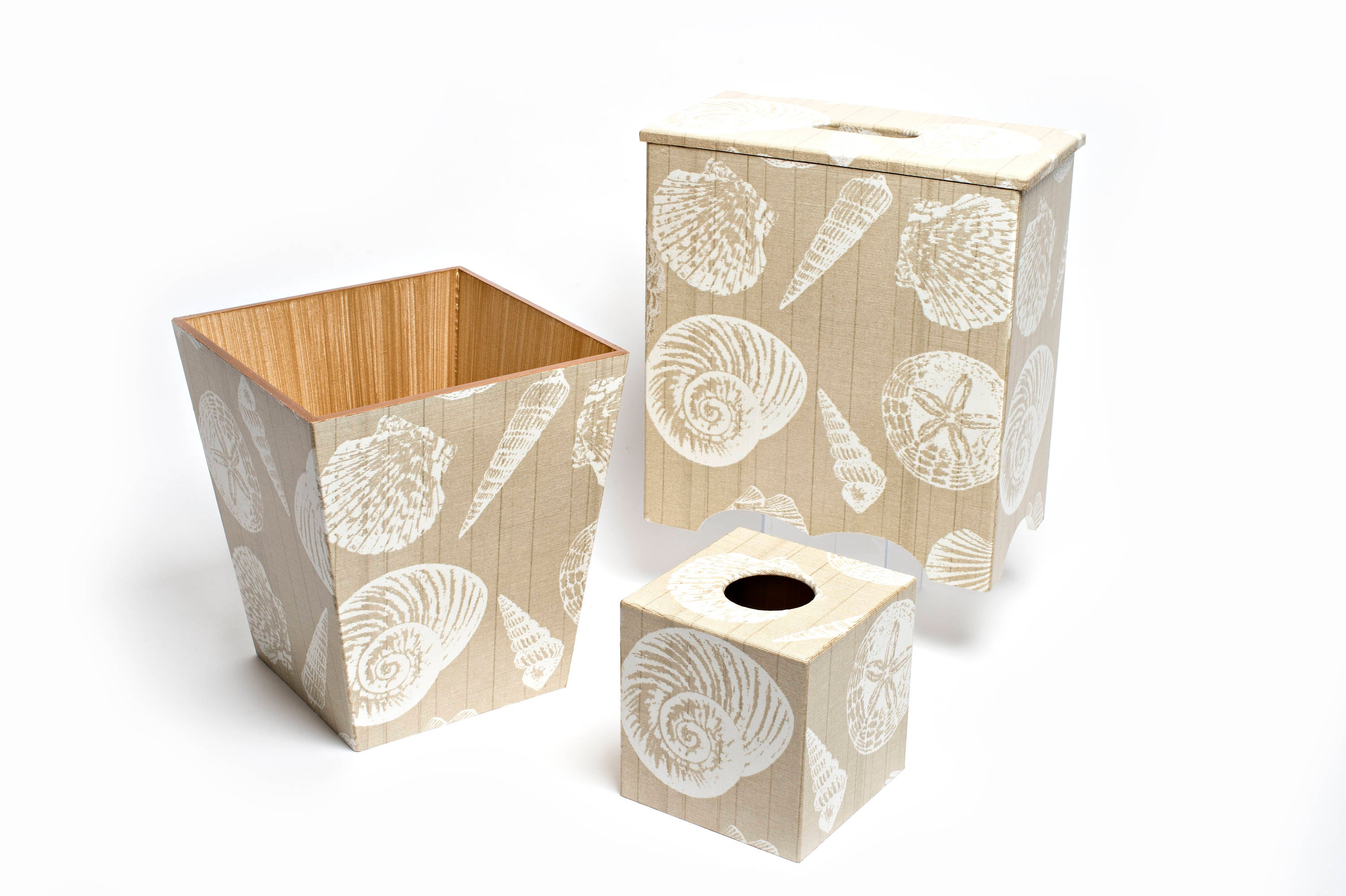 Cream Bin Shell Design - Handmade