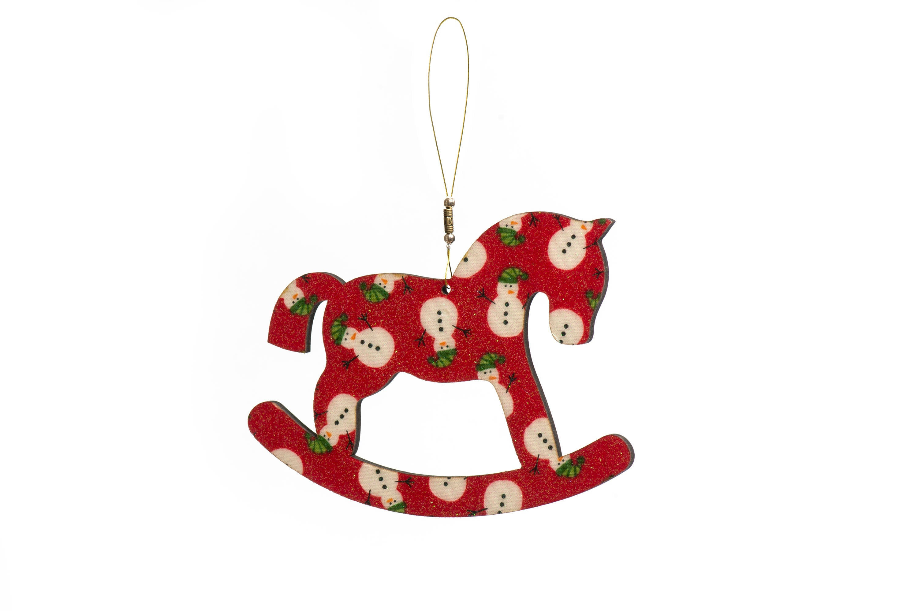 Rocking Horse Christmas Tree Decoration - Handmade | Crackpots
