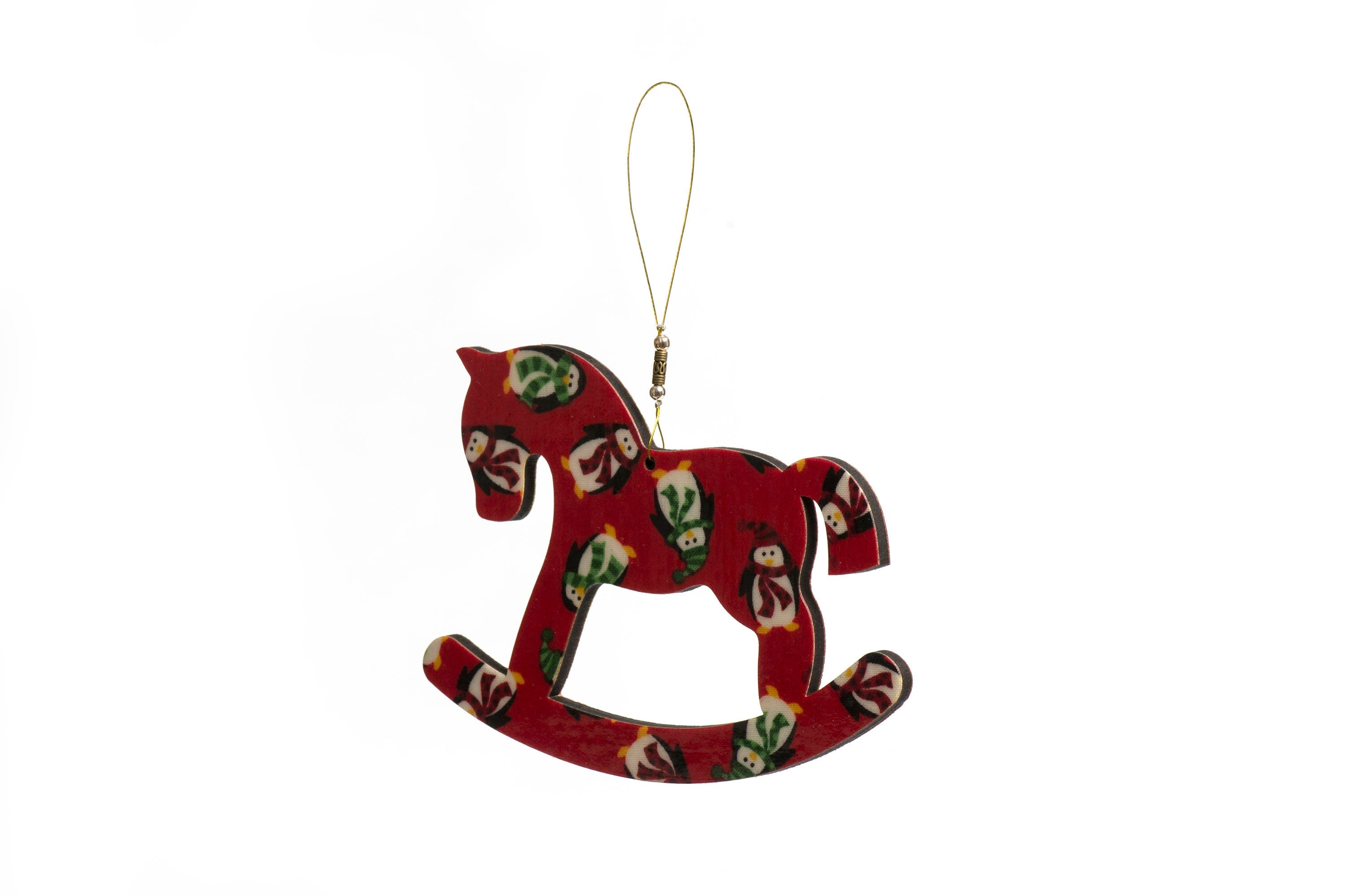 Rocking Horse Christmas Tree Decoration - Handmade