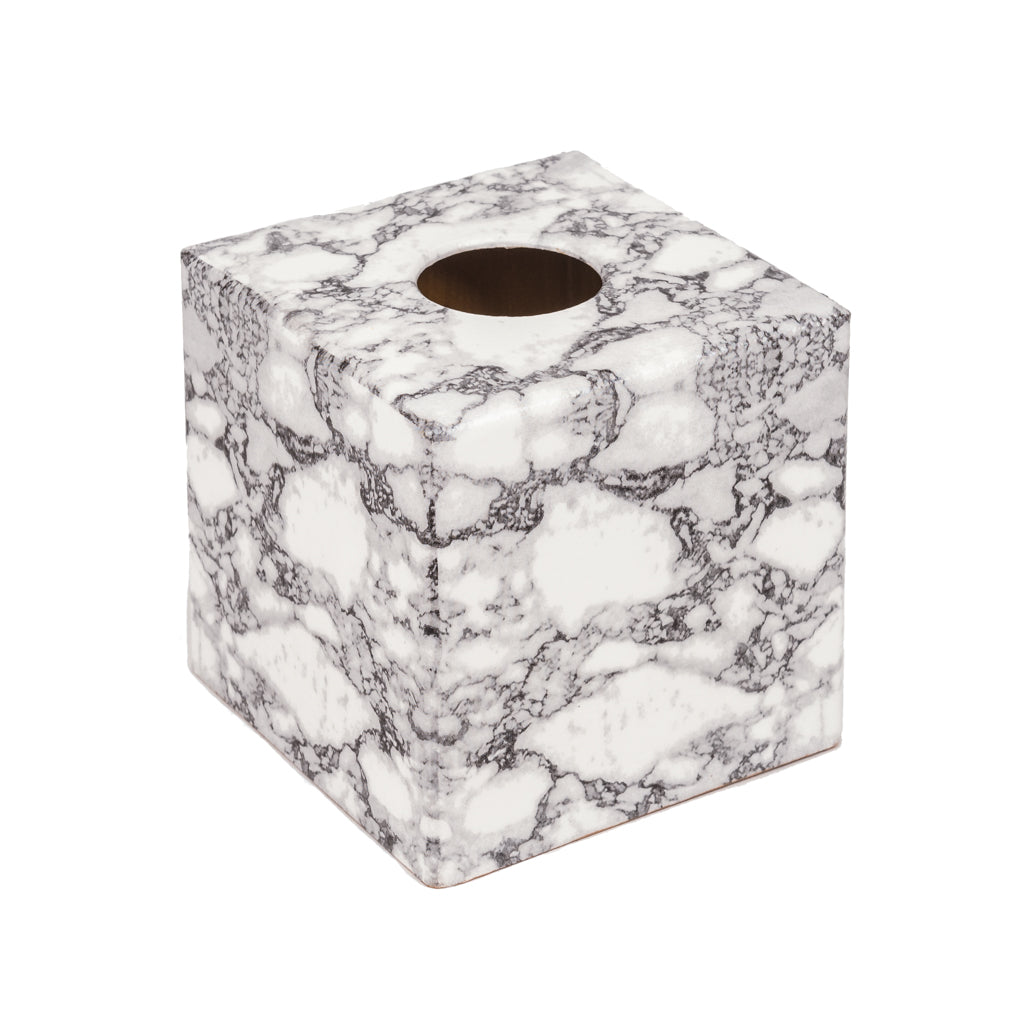 Marble Tissue Box Cover - Handmade | Crackpots