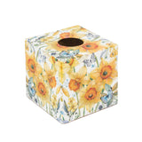 Spring Daffodil Tissue Box Cover - Handmade | Crackpots