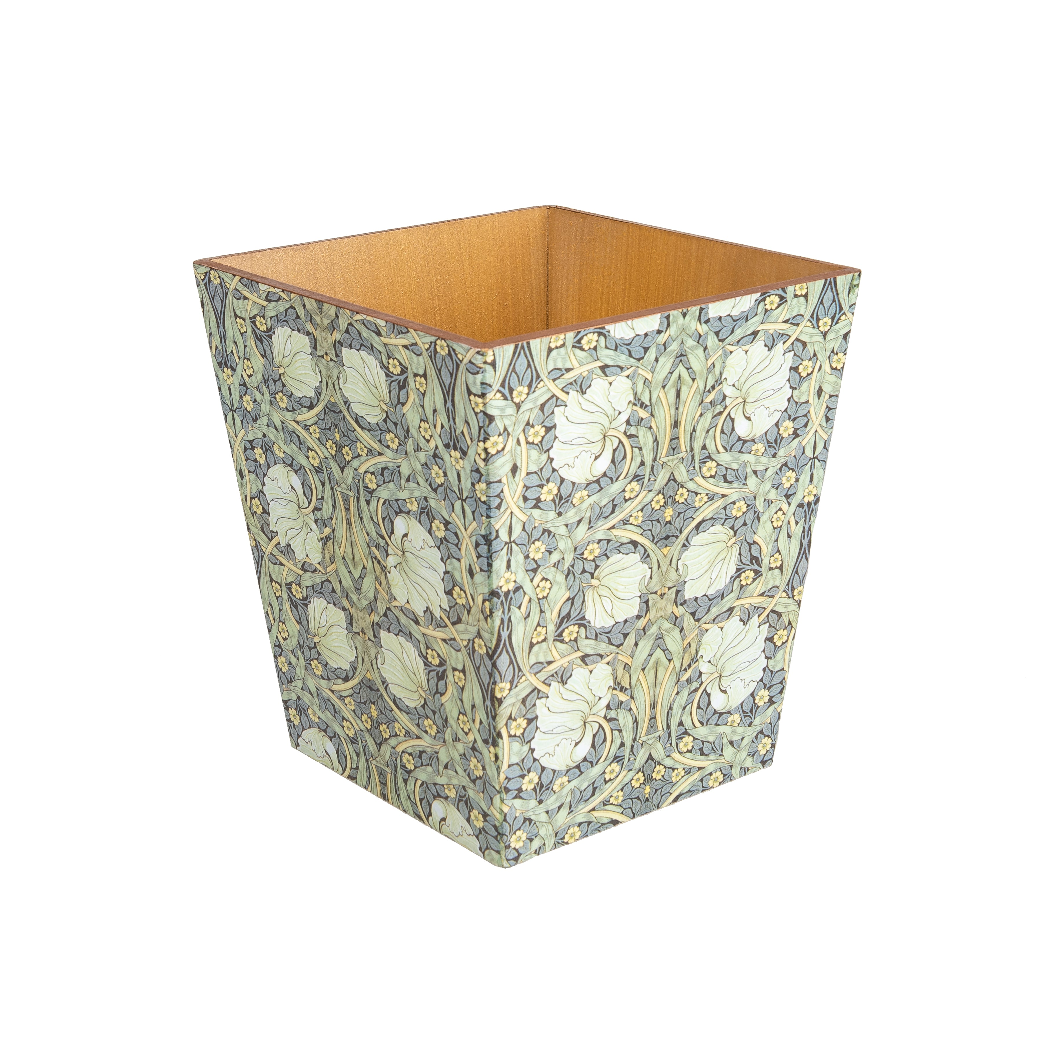 Baroque Matching Waste Paper Bin & Tissue Box Cover