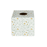 Vintage Print wooden Tissue Box Cover