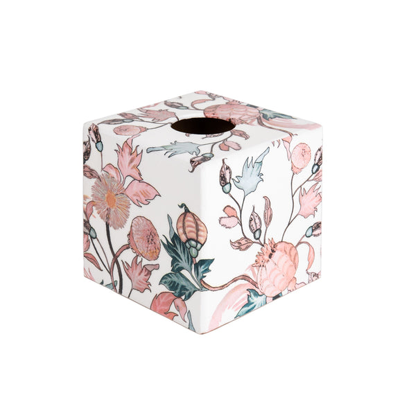 Rose Gold wooden Tissue Box Cover