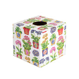 Auricula wooden Tissue Box Cover