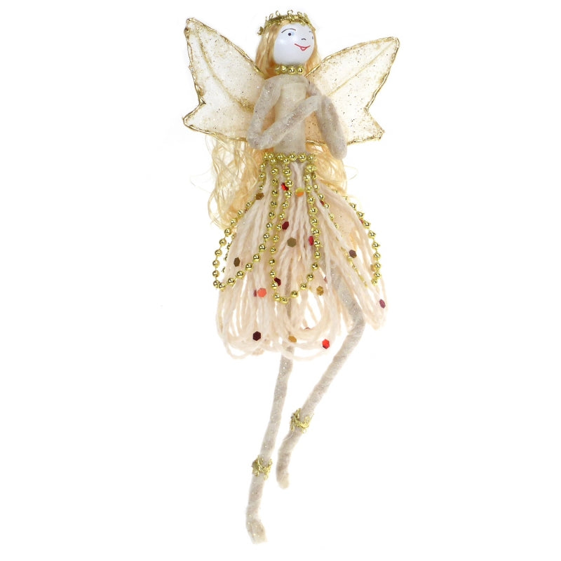 Whispering Fairy Decoration - Handmade | Crackpots