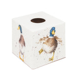 Wild Duck Tissue Box Cover - Handmade | Crackpots