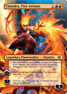 Japanese Art War of the Sparks Planeswalkers
