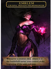Load image into Gallery viewer, Emblem - Liliana, Defiant Necromancer