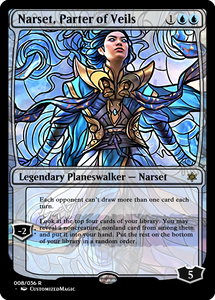 Tainted Glass War of the Sparks Planeswalkers