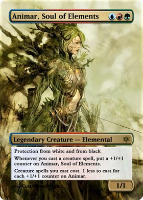 Animar, Soul of Element
