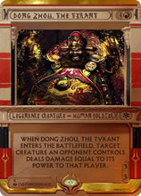 Load image into Gallery viewer, Dong Zhou the Tyrant