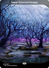 Load image into Gallery viewer, Snow-Covered Lands - Secret Lair Full-Art