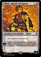 Load image into Gallery viewer, Tainted Glass War of the Sparks Planeswalkers