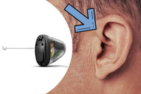 Oticon OPN 1 IIC Invisible Hearing Aid